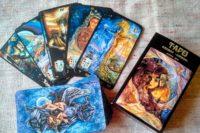 Таро 4 карты - Что думает, чувтствует, цели, итог