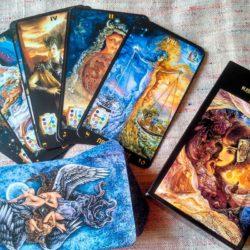 Таро 4 карты – Что думает, чувтствует, цели, итог